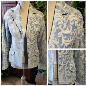 🆕️American Exchange Tapestry Pattern Blazer